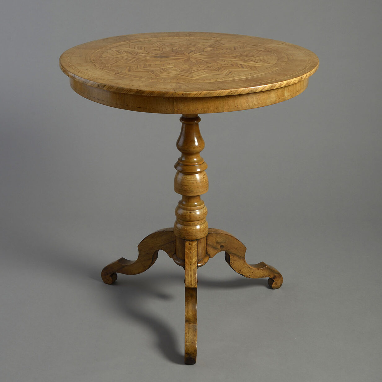 Italian Parquetry Table