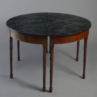Pair of Mahogany Console Tables
