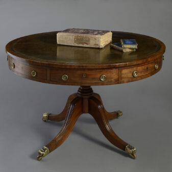 George III Period Drum Table