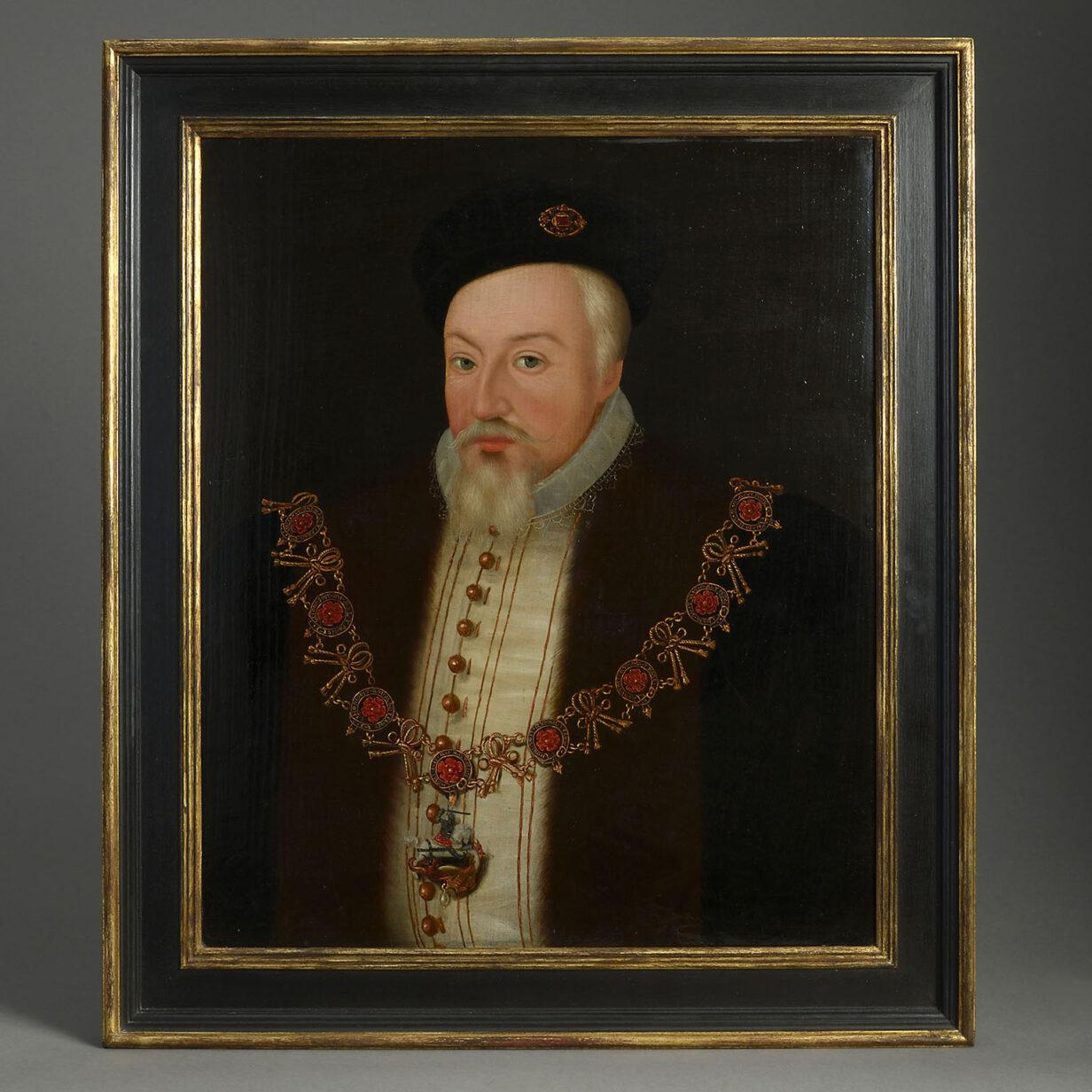 Robert Dudley Earl of Leicester Portrait