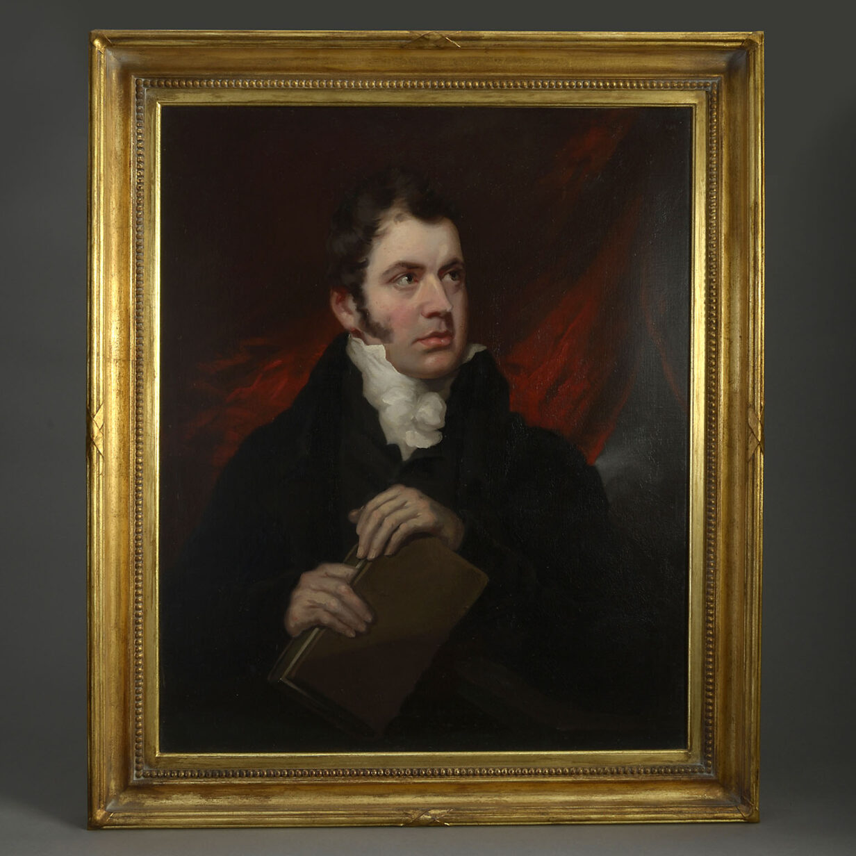 Mather Brown Portrait of James Augustus Hessey