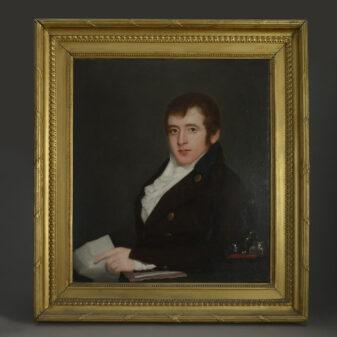Portrait of Robert Hume
