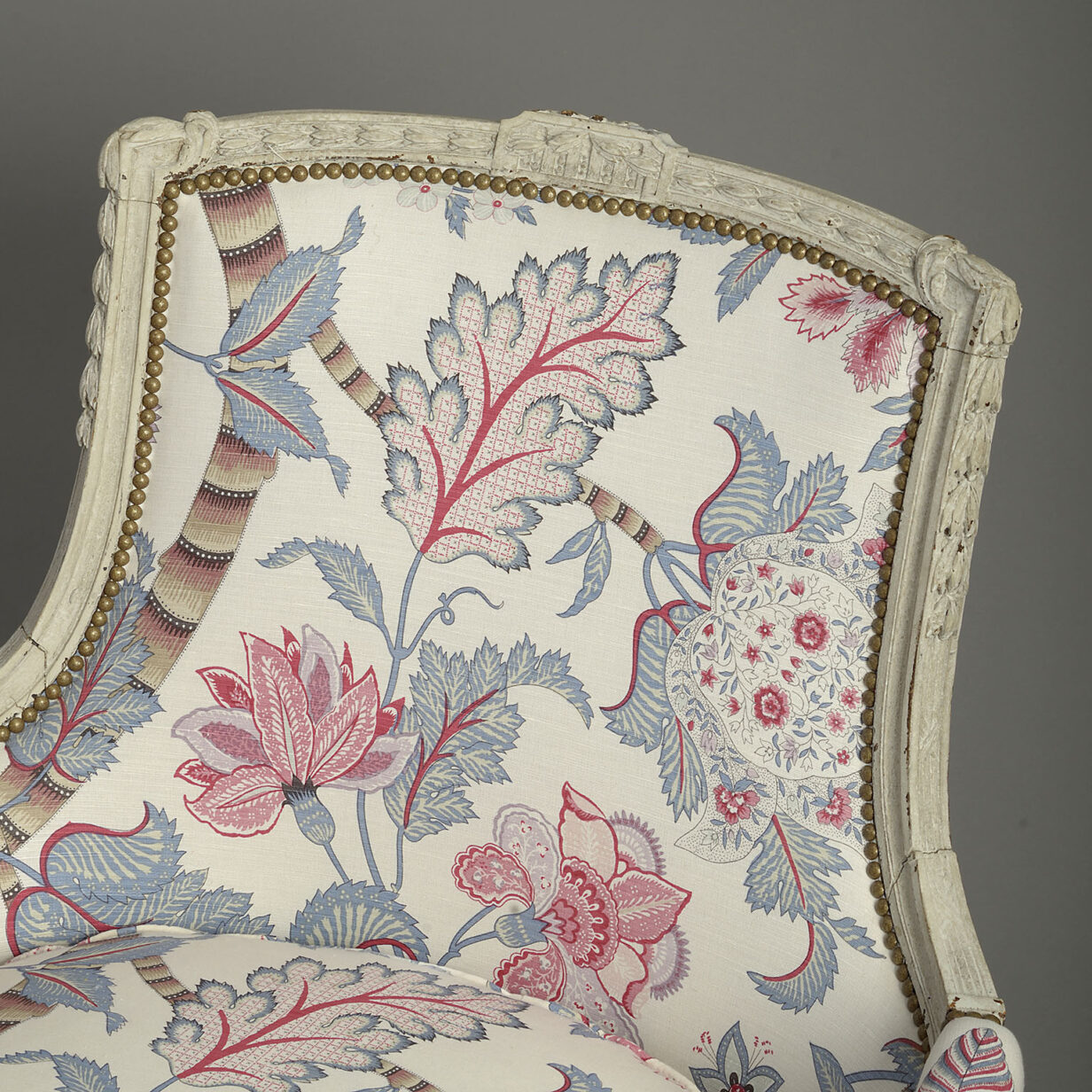 Pair of Bergere Armchairs