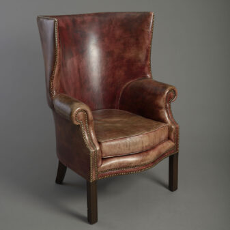 George III Style Wing Armchair