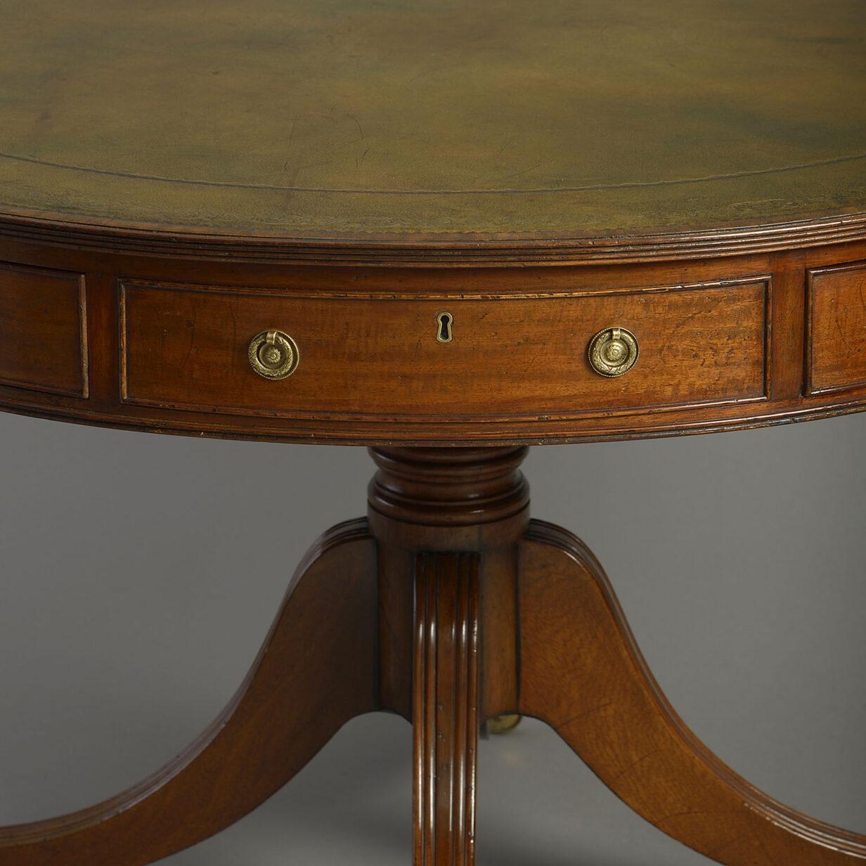 George III Style Drum Table