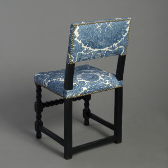 Pair of Ebonised Side Chairs