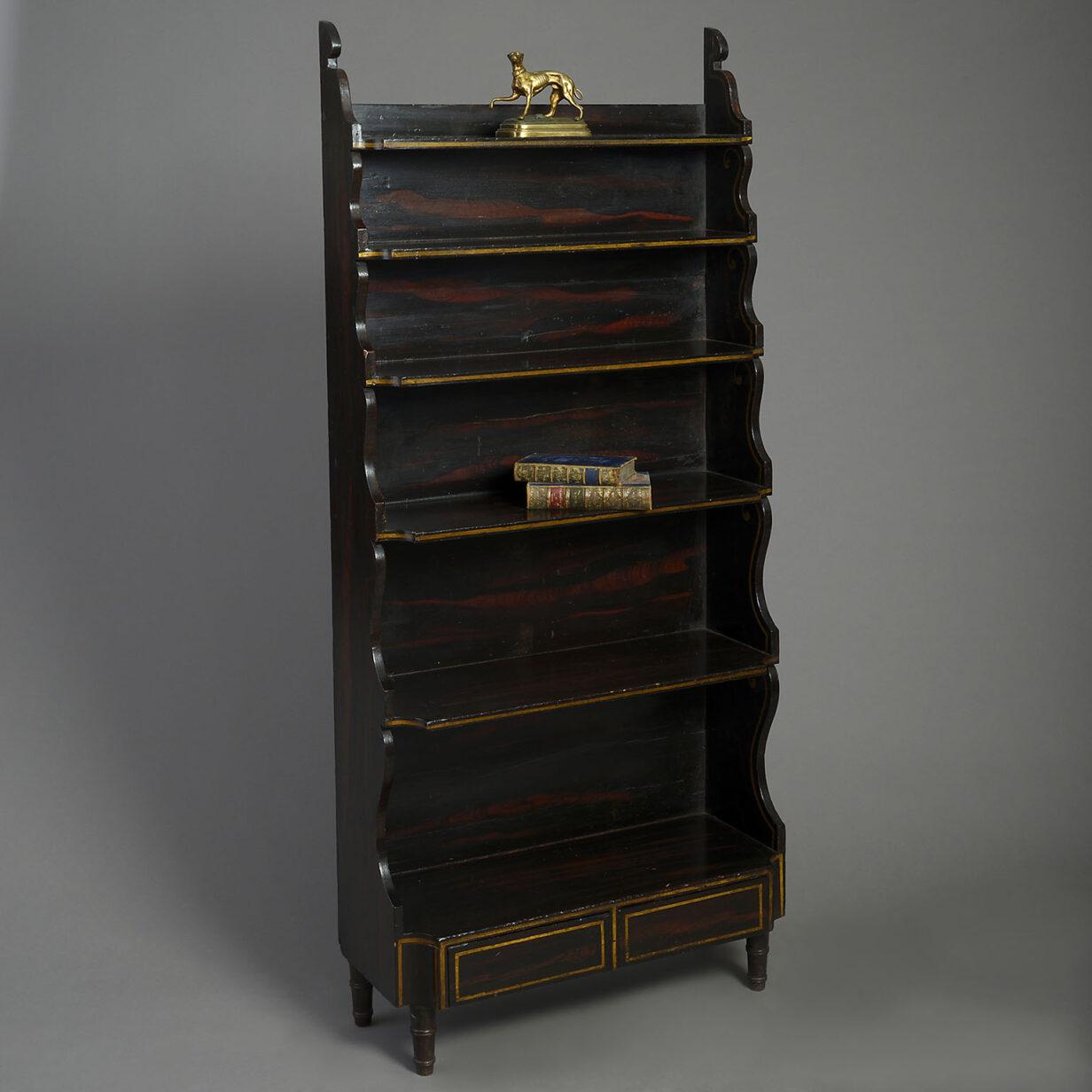 Regency Waterfall Bookcase