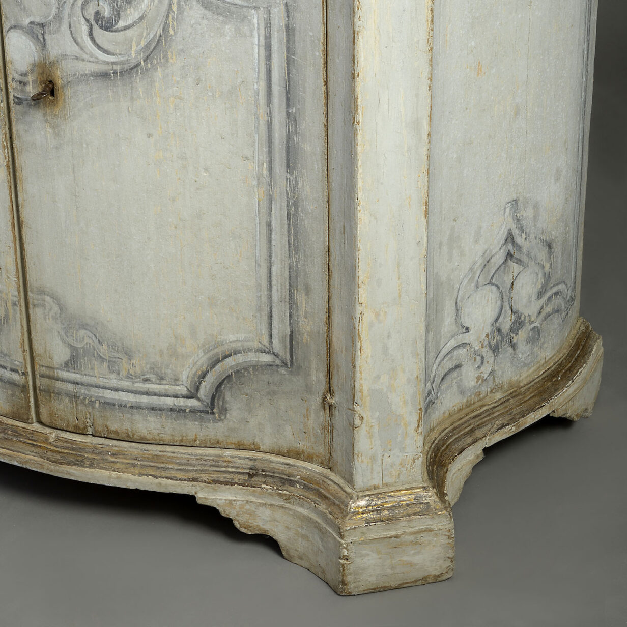 Pair of Painted Italian Commodes