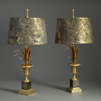 Pair of Maison Charles Lamps