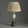 Faux Marble Table Lamp